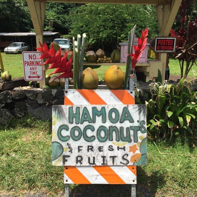 Hamoa Coconuts