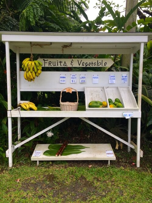 Fruits and Vegetable Shack in Maui