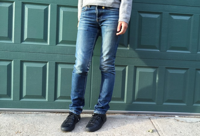 Worn-in A.P.C. Petit Standard Jeans