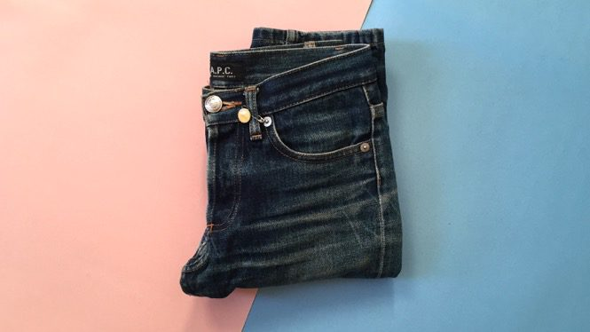 How My A.P.C. Jeans Are a Frugal Buy