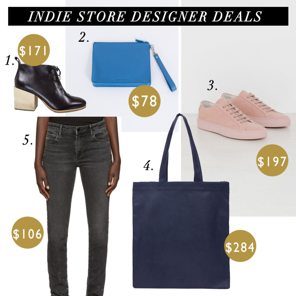 How to Afford Designer Clothes - Indie Stores