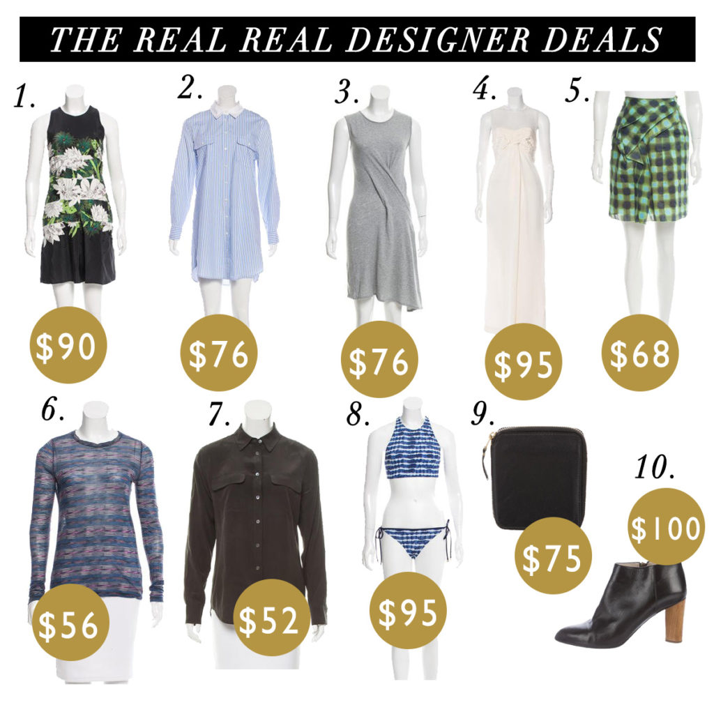 How to Afford Designer Clothes - The Real Real