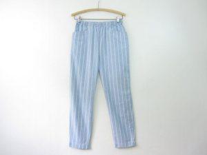 Chambray Striped Pants
