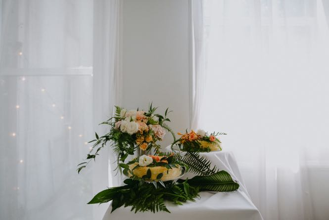 NYC Lady M Wedding Cake Details