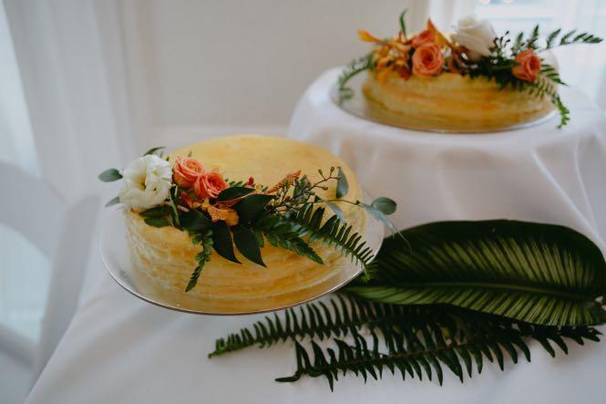 NYC Lady M Wedding Cake