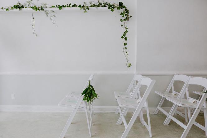 NYC Wedding Ceremony Decor Details