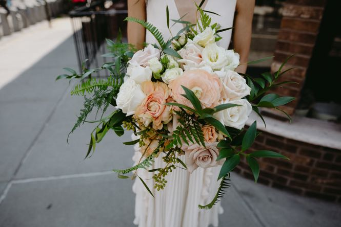 NYC Bridal Bouquet