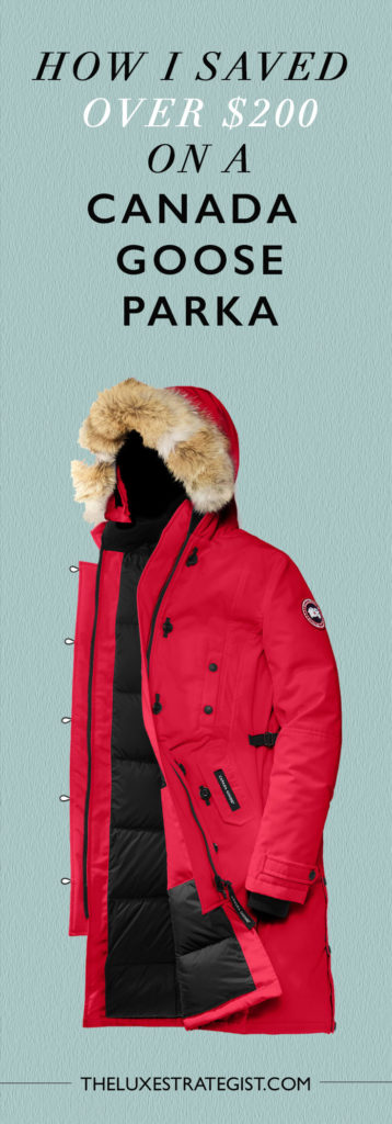 How I Saved Over $200 on a Canada Goose Jacket