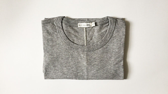 Rag & Bone The Classic Tee in Heather Grey