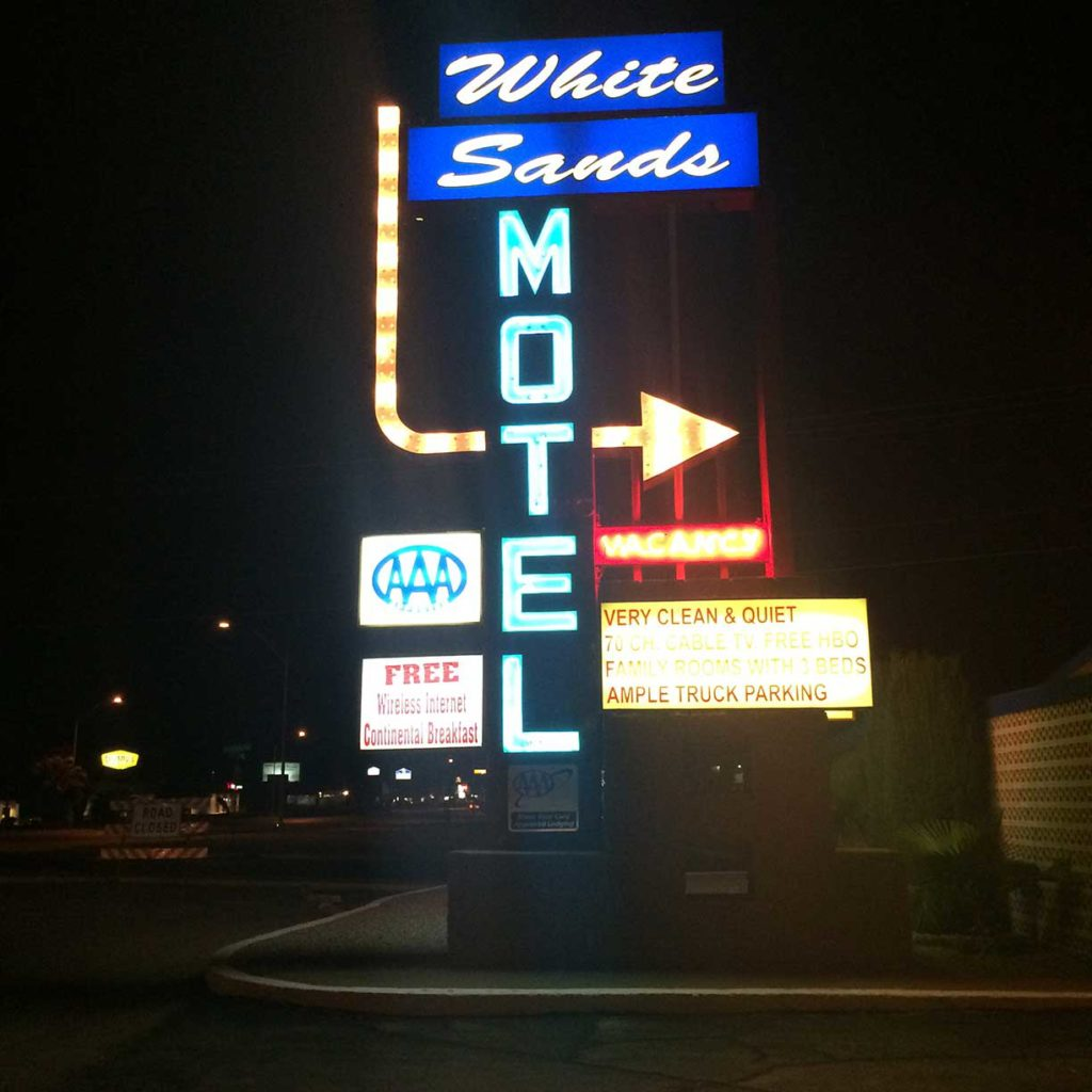 White Sands Motel in Alamogordo