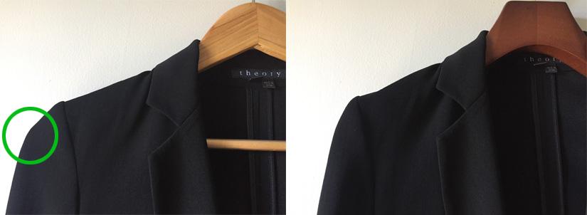 Regular Hanger Versus a Petite Hanger