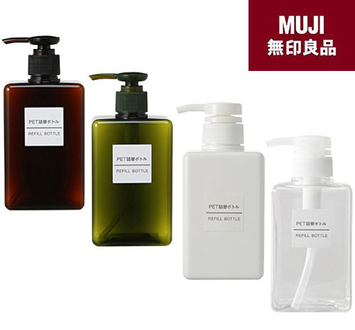 Muji Refillable Bottles