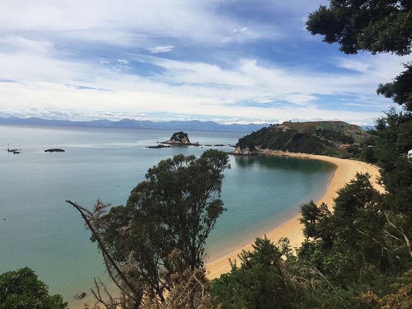 Kaiteriteri Beach in New Zealand