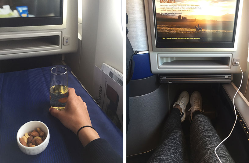 United Polaris Business Class to New Zealand