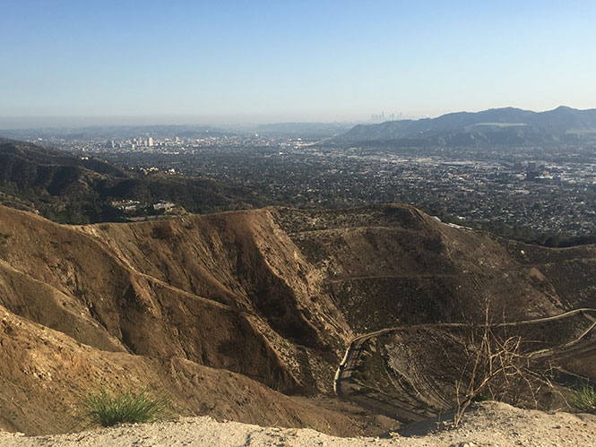 The View from the Verdugo Mountains