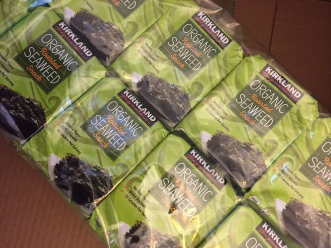 Seaweed Snacks from Costco