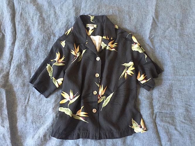 Silk tropical shirt