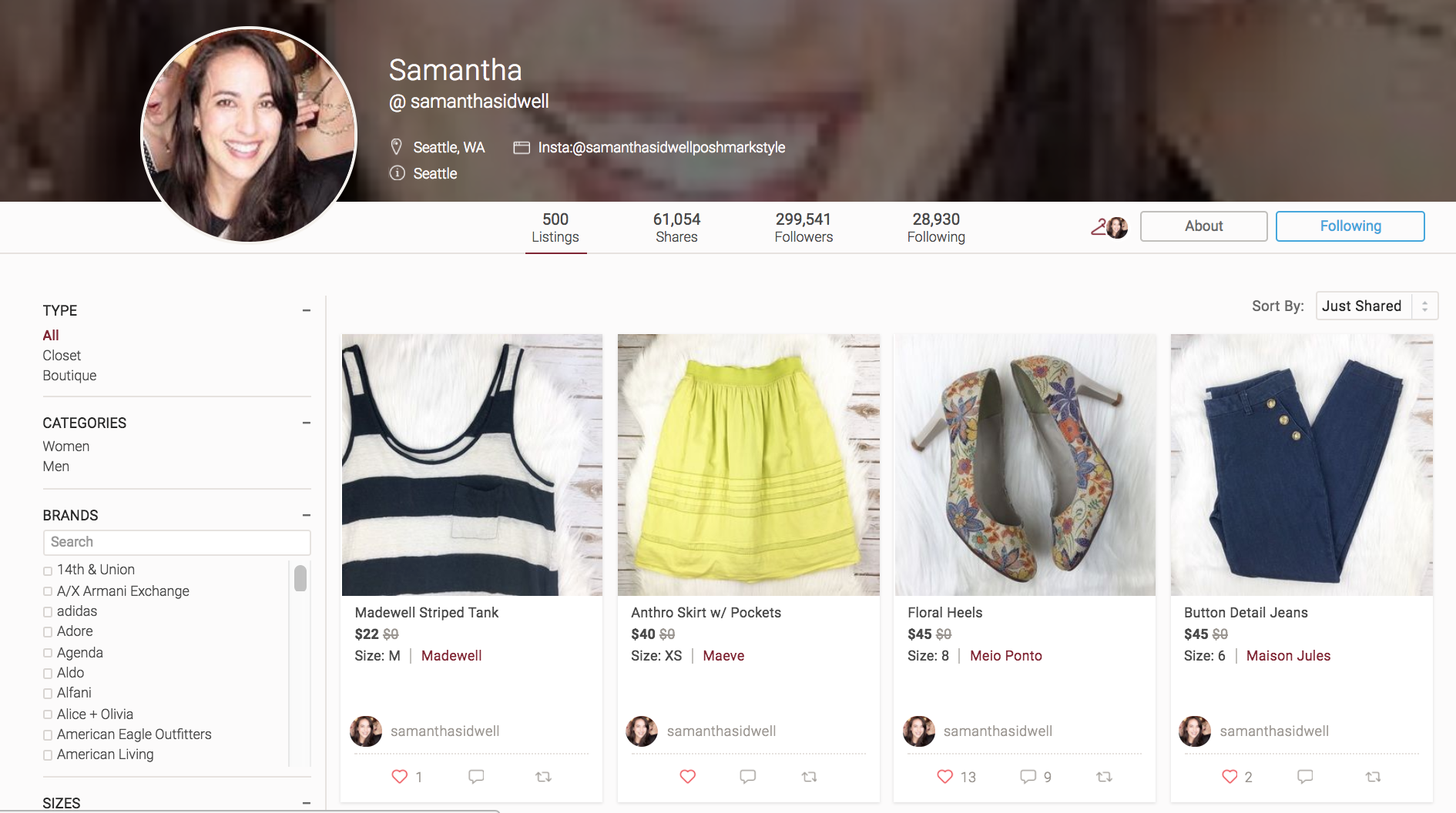 cd662293ccc Poshmark Vs. eBay Vs. Depop  The Ultimate Resale Site Showdown
