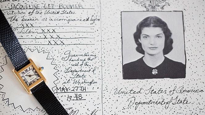 Jackie Kennedy's Cartier Tank Watch