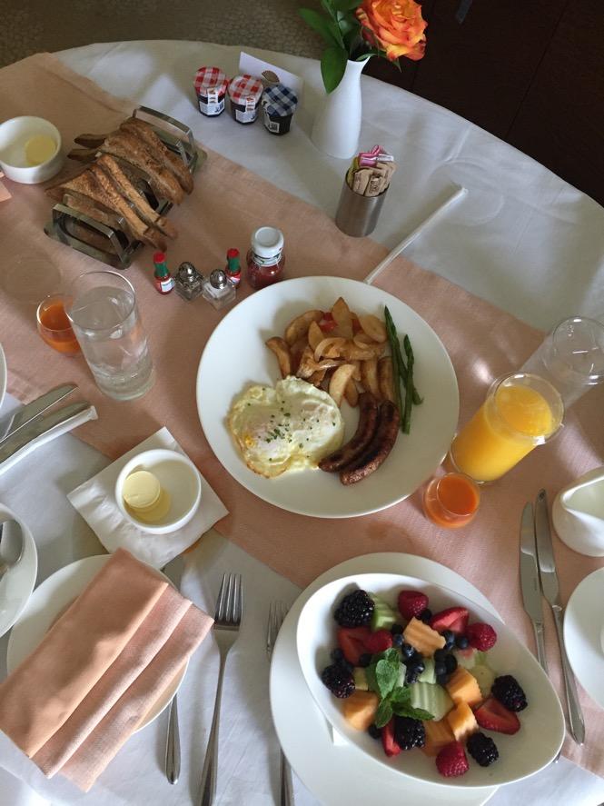 Mandarin Oriental Miami Breakfast