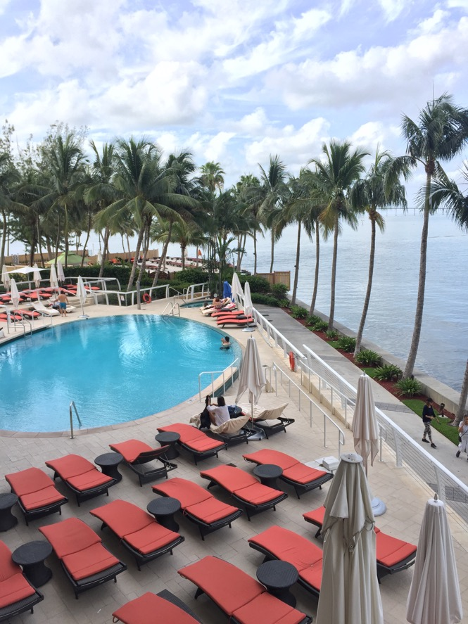 Mandarin Oriental Miami Hotel Pool