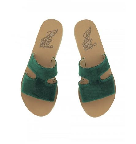 Ancient Greek Green Sandals