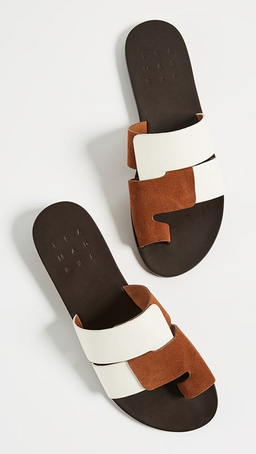 Trademark Cadiz Two-Toned Sandals
