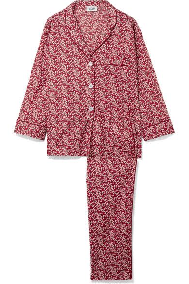 Sleepy Jones Marina Floral Print Pajamas