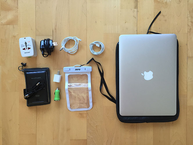 Iceland Summer Packing List: Electronics