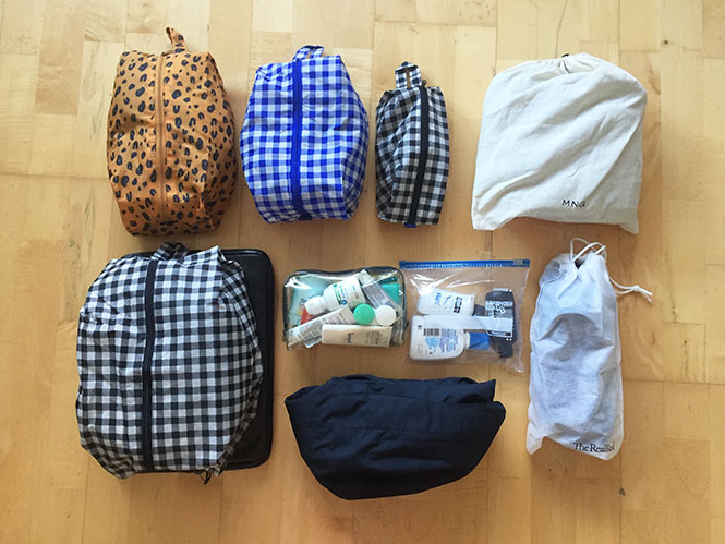 Iceland Summer Packing List: Packing Bags