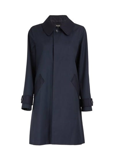 A.P.C. Cabourg Mac Trench Coat