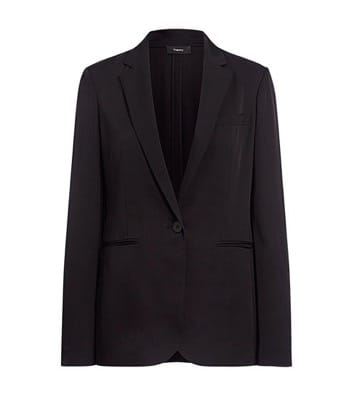 Theory Black Grinsley Blazer