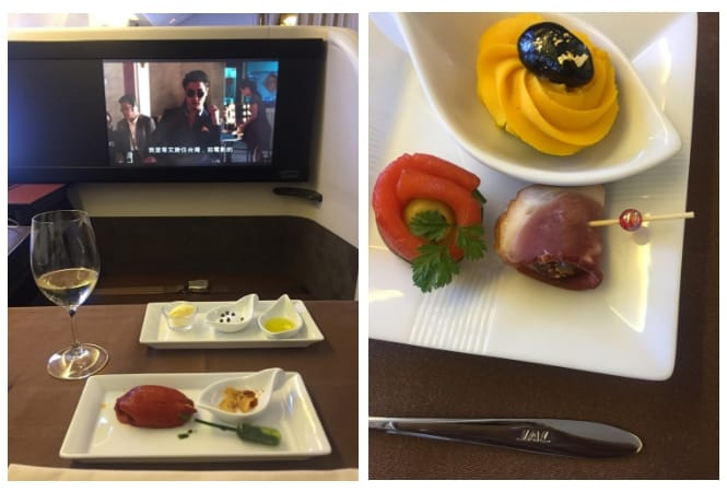 Japan Airlines First Class Tokyo - NYC