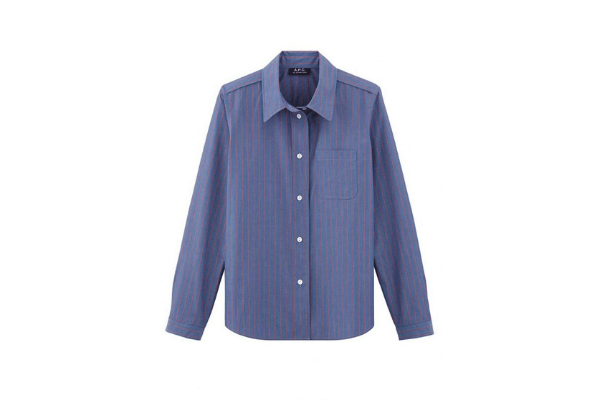 A.P.C. Lenka Striped Shirt