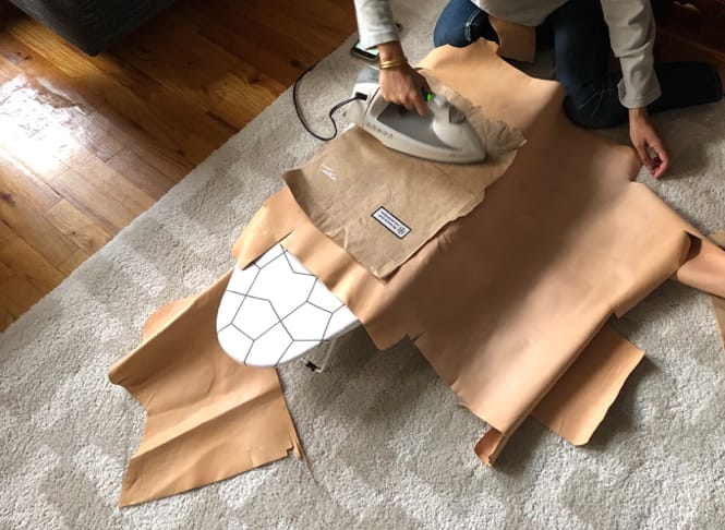 Ikea Frosta Hack - Iron the Leather