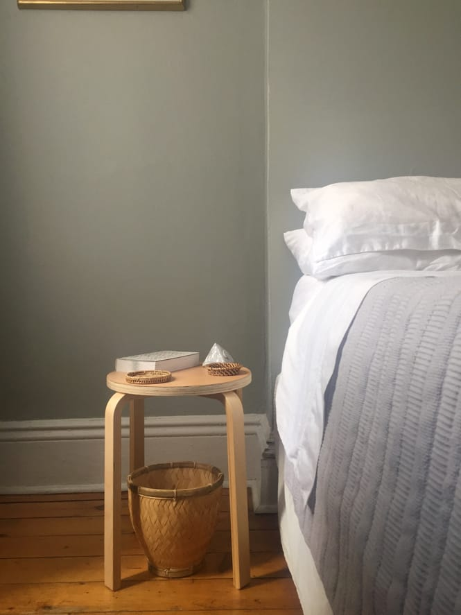 IKEA Frosta as a Nightstand