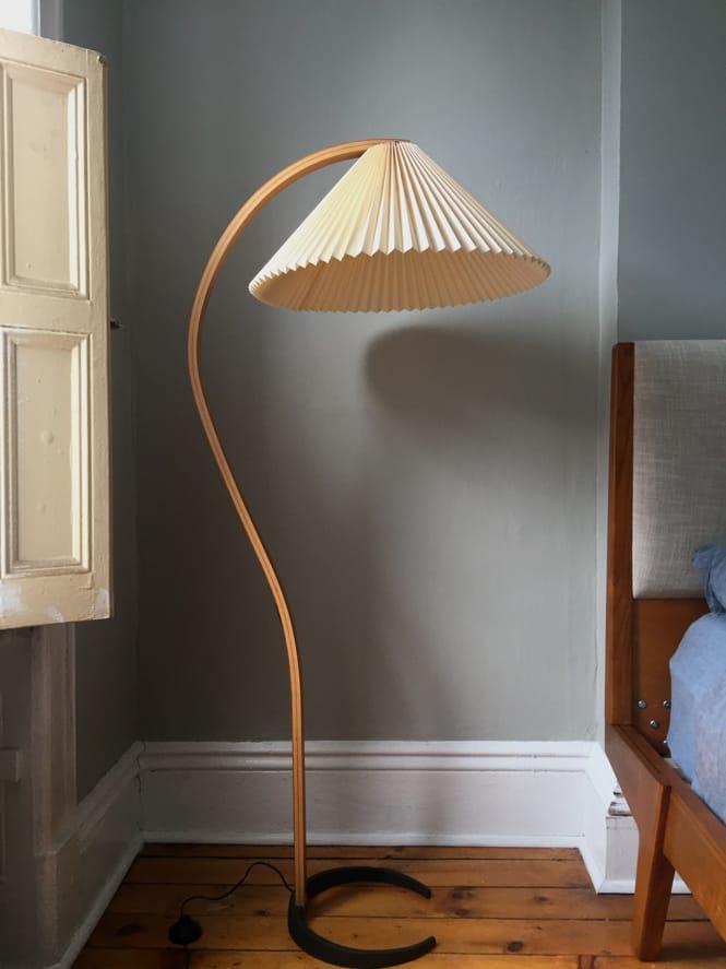 Caprani Lamp in Bedroom