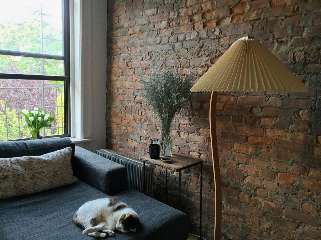 Caprani Lamp in Brooklyn Apartment