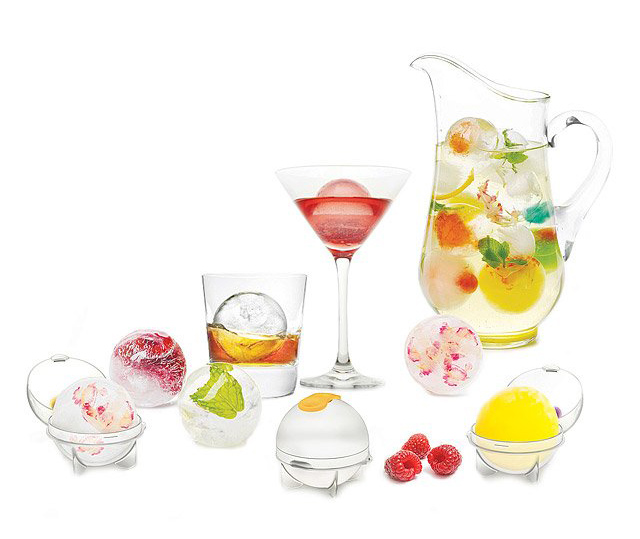Fruit Infusing Ice Balls, Set of Four