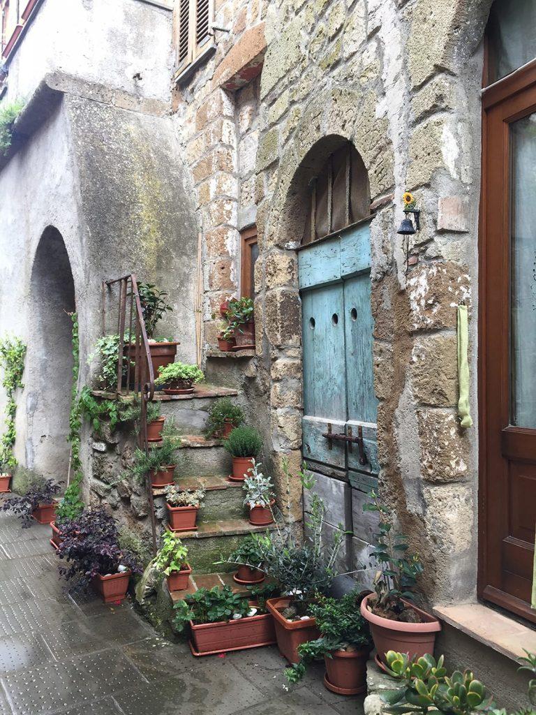 Pitigliano, cute Italian town