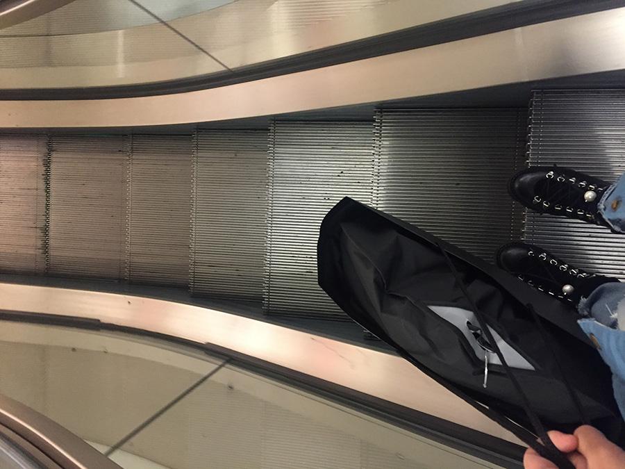Barneys escalator