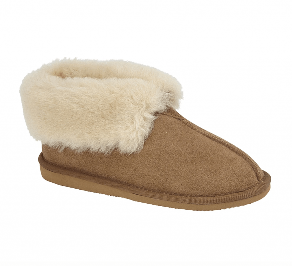 Draper of Glastonbury Camila Sheepskin Slippers