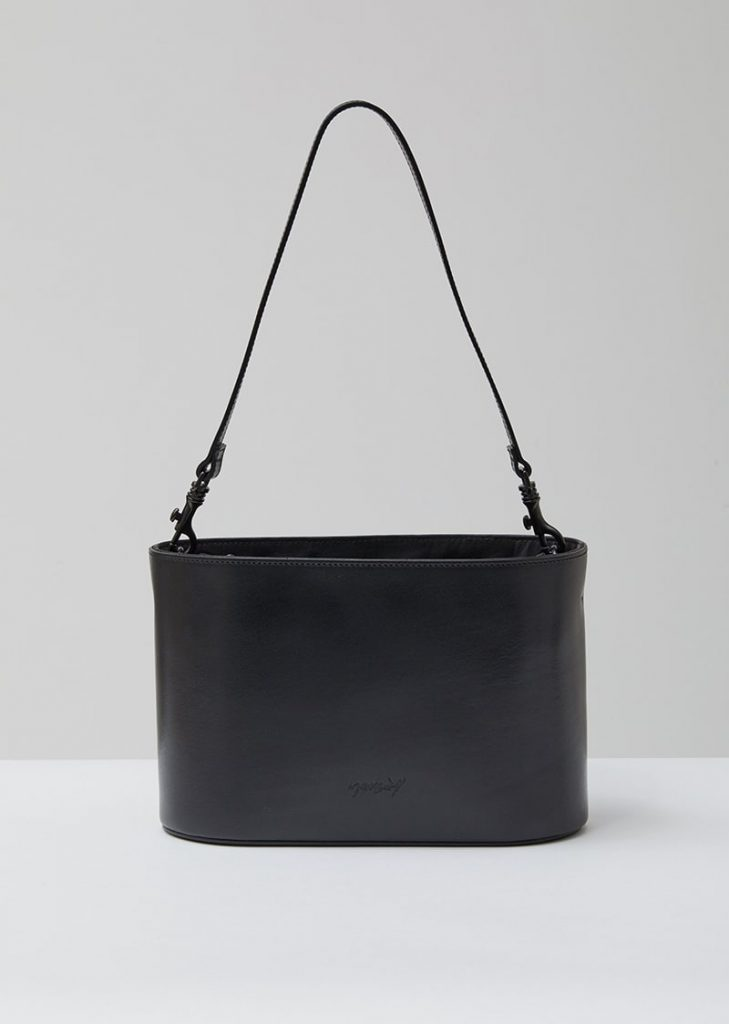 Marsell Mandorlato Black Leather Bag