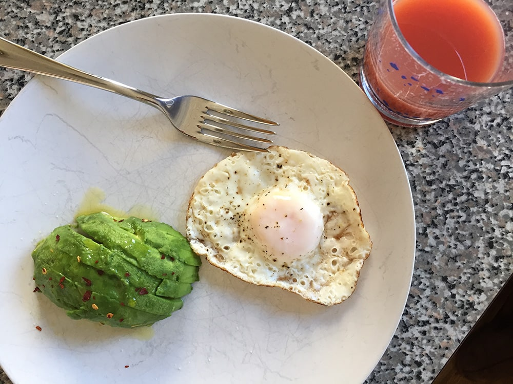 Avocado and Egg Breakfast