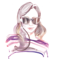 The Luxe Strategist Illustration